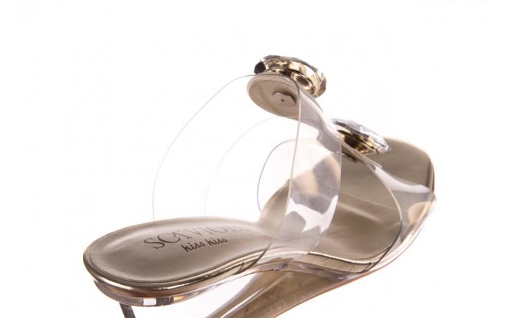 Klapki sca'viola g-29 gold, złoty, silikon  - sca`viola - nasze marki 6