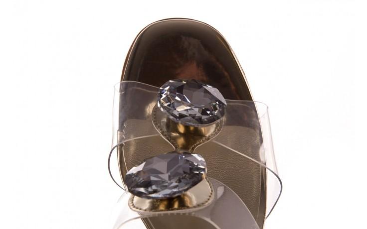 Klapki sca'viola g-29 gold, złoty, silikon  - sca`viola - nasze marki 7