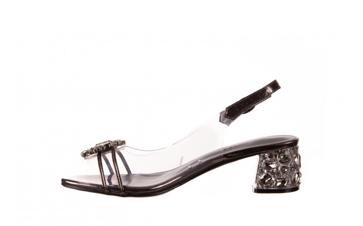 Sandały sca'viola g-25 pewter 21 047172, srebro, silikon 2