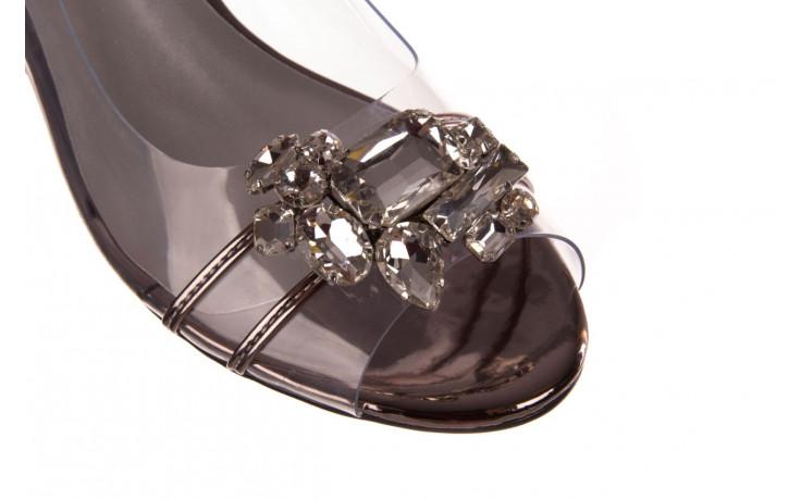 Sandały sca'viola g-25 pewter 21 047172, srebro, silikon 5