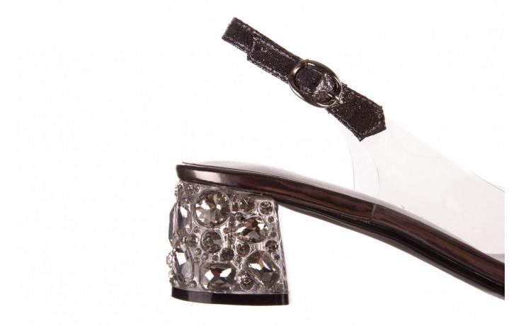 Sandały sca'viola g-25 pewter 21 047172, srebro, silikon 6