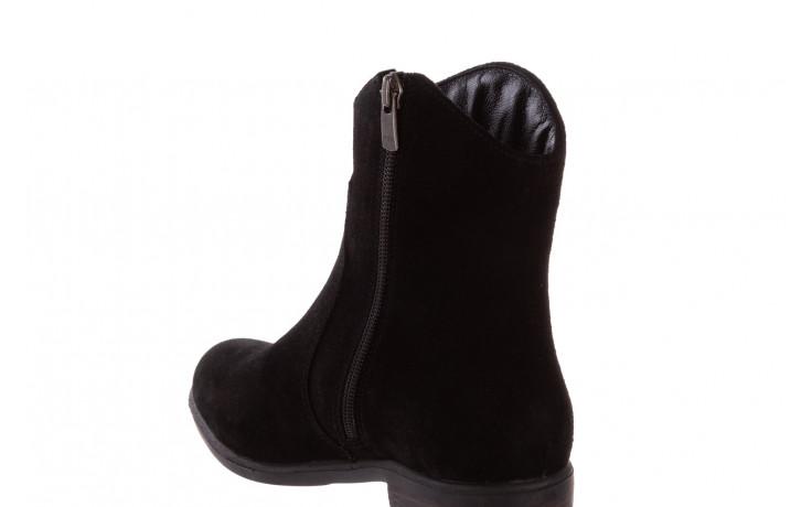 Botki bayla-196 147802 siy yarma 196005, czarny, skóra naturalna  - kowbojki / boho - botki - buty damskie - kobieta 7