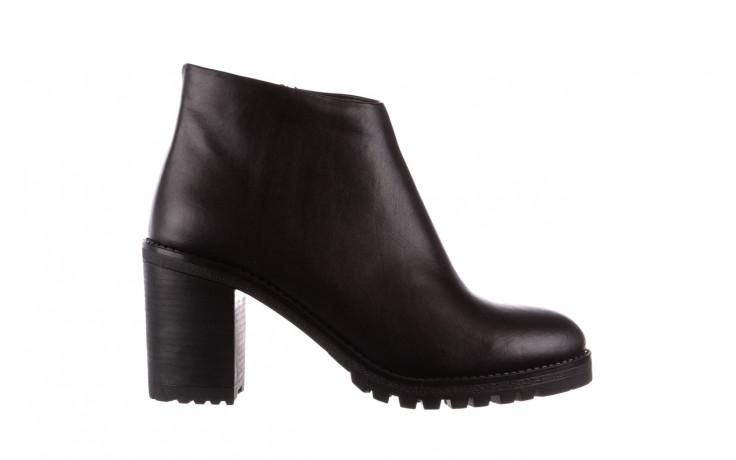 Botki bayla-196 969601 siy soft 196030, czarny, skóra naturalna  - botki - buty damskie - kobieta