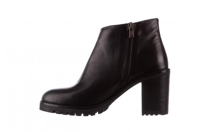 Botki bayla-196 969601 siy soft 196030, czarny, skóra naturalna  - botki - buty damskie - kobieta 3