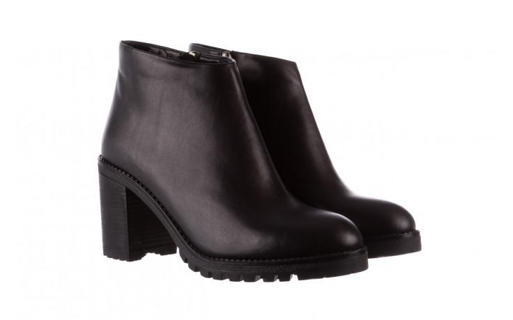 Botki bayla-196 969601 siy soft 196030, czarny, skóra naturalna  - botki - buty damskie - kobieta 1