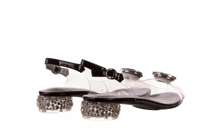 Sandały sca'viola g-15 black 21 047181, czarny, silikon  - sandały - buty damskie - kobieta 3