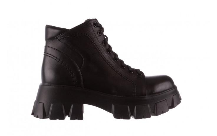 Botki bayla-196 20ef126-03 d44 196020, czarny, skóra naturalna  - skórzane - botki - buty damskie - kobieta