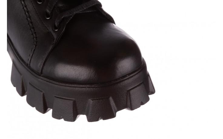 Botki bayla-196 20ef126-03 d44 196020, czarny, skóra naturalna  - skórzane - botki - buty damskie - kobieta 6