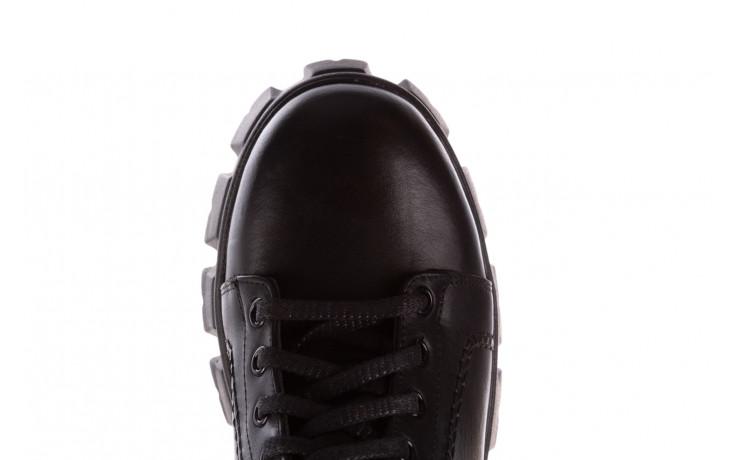 Botki bayla-196 20ef126-03 d44 196020, czarny, skóra naturalna  - skórzane - botki - buty damskie - kobieta 7
