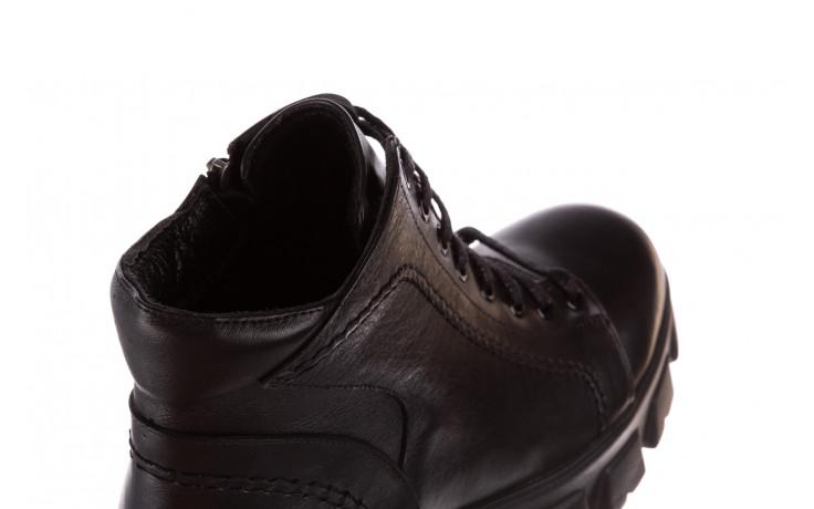 Botki bayla-196 20ef126-03 d44 196020, czarny, skóra naturalna  - skórzane - botki - buty damskie - kobieta 9