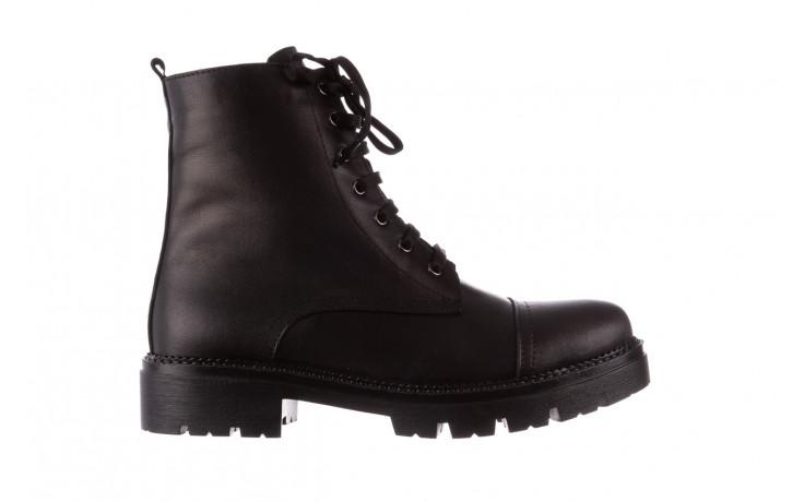 Trzewiki bayla-196 263801 d44 196025, czarny, skóra natutralna  - trzewiki - buty damskie - kobieta