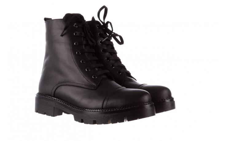 Trzewiki bayla-196 263801 d44 196025, czarny, skóra natutralna  - trzewiki - buty damskie - kobieta 1