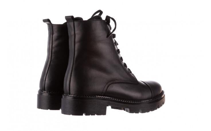 Trzewiki bayla-196 263801 d44 196025, czarny, skóra natutralna  - trzewiki - buty damskie - kobieta 4
