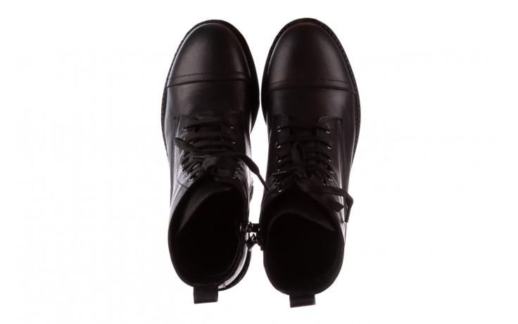 Trzewiki bayla-196 263801 d44 196025, czarny, skóra natutralna  - trzewiki - buty damskie - kobieta 5
