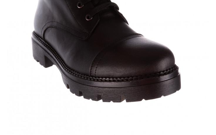 Trzewiki bayla-196 263801 d44 196025, czarny, skóra natutralna  - trzewiki - buty damskie - kobieta 6