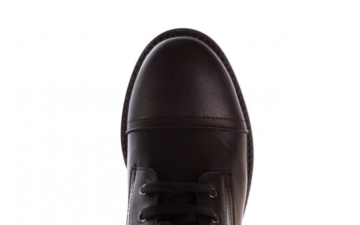 Trzewiki bayla-196 263801 d44 196025, czarny, skóra natutralna  - trzewiki - buty damskie - kobieta 7