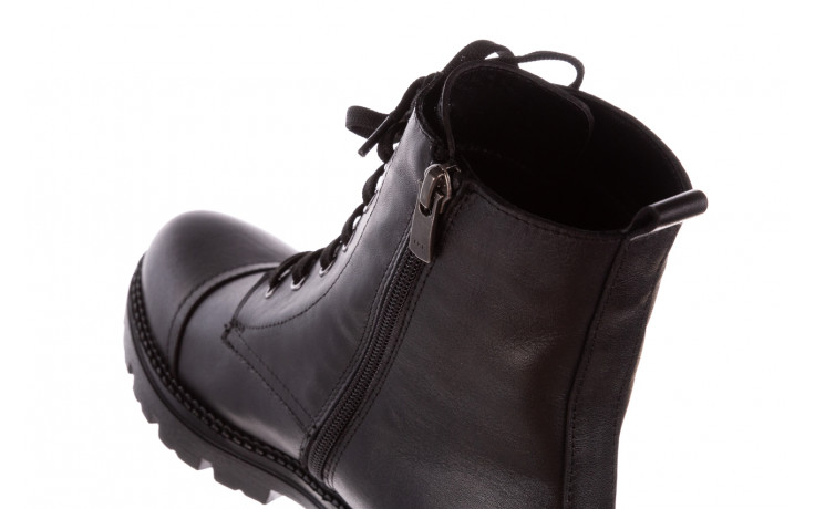 Trzewiki bayla-196 263801 d44 196025, czarny, skóra natutralna  - trzewiki - buty damskie - kobieta 8