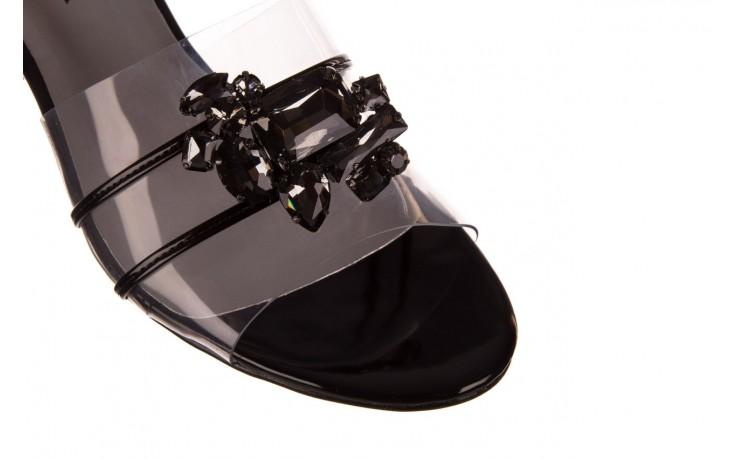 Klapki sca'viola g-27 black, czarny, silikon  - mega okazje - ostatnie rozmiary 5