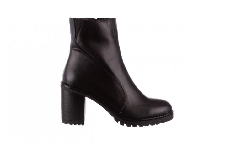 Botki bayla-196 969606 siy soft 196031, czarny, skóra naturalna  - skórzane - botki - buty damskie - kobieta