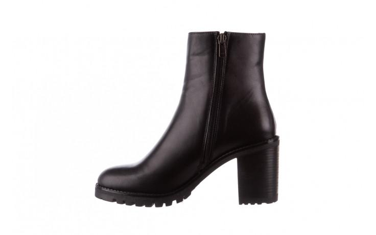 Botki bayla-196 969606 siy soft 196031, czarny, skóra naturalna  - skórzane - botki - buty damskie - kobieta 3