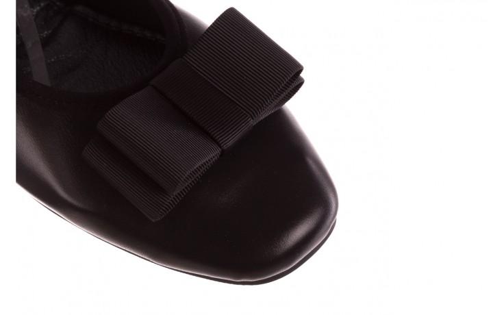 Baleriny viscala 11870.26 czarny, skóra naturalna - viscala - nasze marki 5