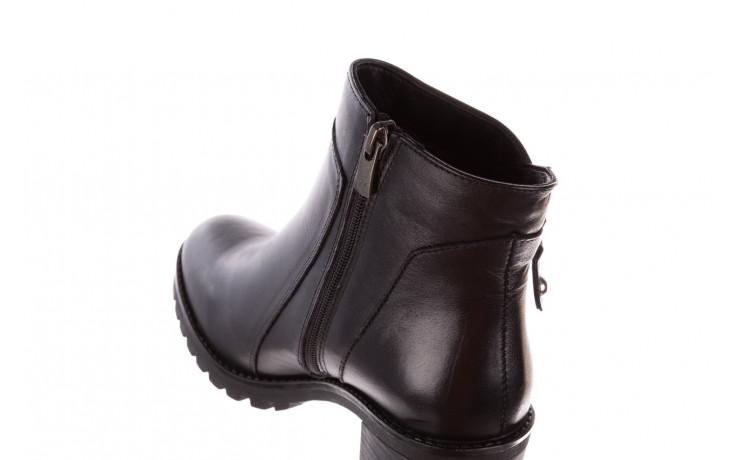 Botki bayla-196 969607 siy soft 196032, czarny, skóra naturalna  - trendy - kobieta 9