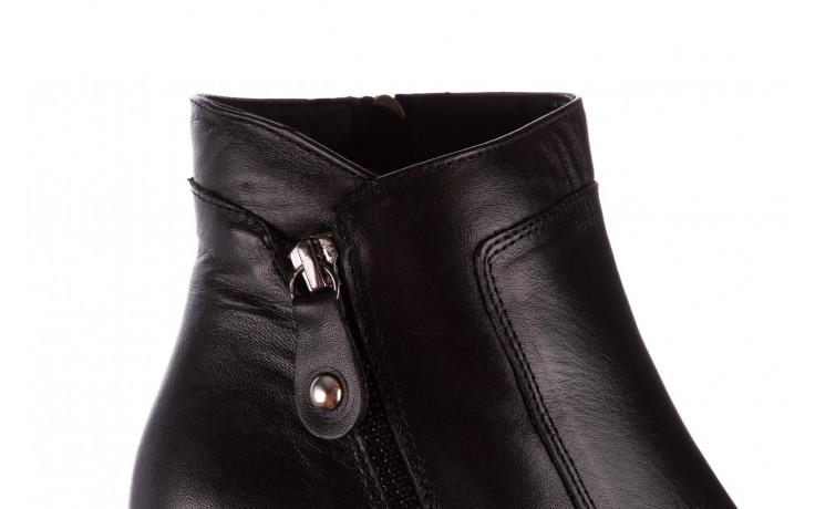 Botki bayla-196 969607 siy soft 196032, czarny, skóra naturalna  - trendy - kobieta 10