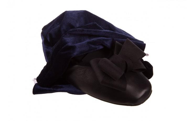 Baleriny viscala 11870.23 czarny, skóra naturalna - viscala - nasze marki 7