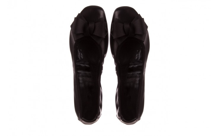 Baleriny viscala 11870.23 czarny, skóra naturalna - viscala - nasze marki 4