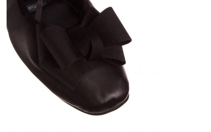 Baleriny viscala 11870.23 czarny, skóra naturalna - viscala - nasze marki 5