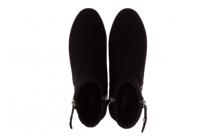 Botki bayla-196 avcilar-02 d78 196038, czarny, skóra naturalna  - botki - buty damskie - kobieta 5