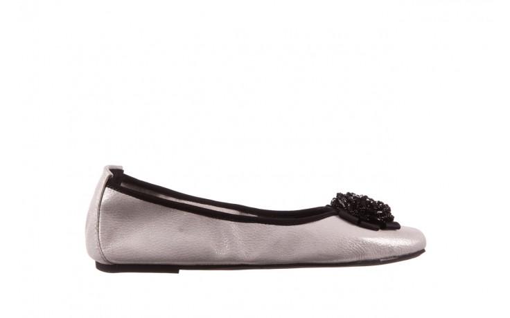 Baleriny viscala 11870.37 biały perłowy, skóra naturalna - baleriny - buty damskie - kobieta
