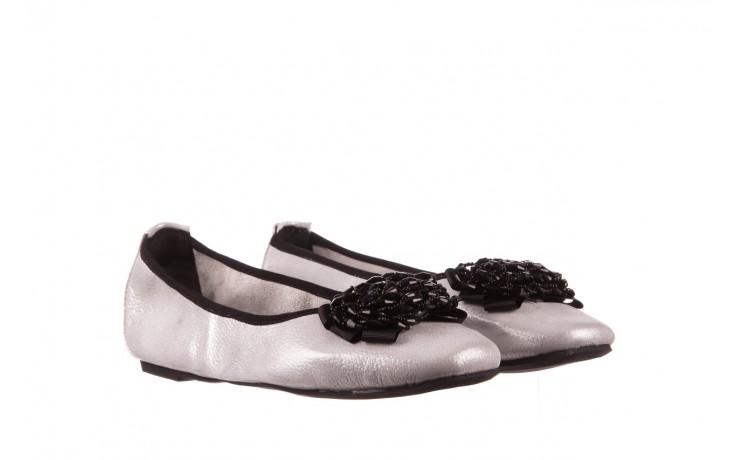 Baleriny viscala 11870.37 biały perłowy, skóra naturalna - baleriny - buty damskie - kobieta 1