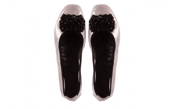 Baleriny viscala 11870.37 biały perłowy, skóra naturalna - baleriny - buty damskie - kobieta 4