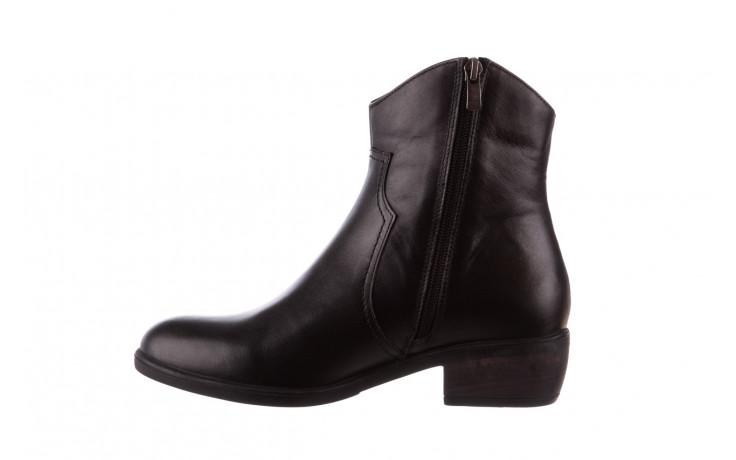 Botki bayla-196 147802 2008 196003, czarny, skóra naturalna  - skórzane - botki - buty damskie - kobieta 3