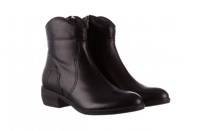 Botki bayla-196 147802 2008 196003, czarny, skóra naturalna  - skórzane - botki - buty damskie - kobieta 1