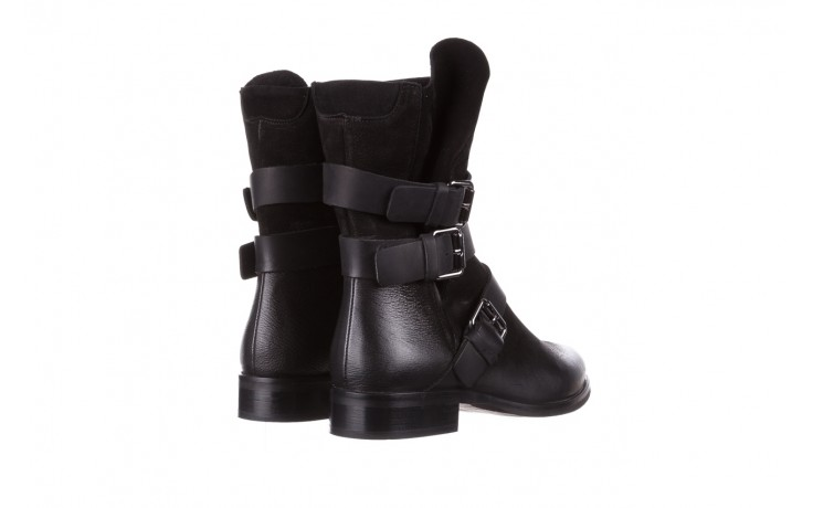 Botki bayla-161 050-09435 black, czarny, skóra naturalna  - skórzane - botki - buty damskie - kobieta 4
