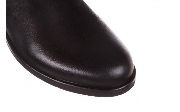 Botki bayla-161 050-09435 black, czarny, skóra naturalna  - skórzane - botki - buty damskie - kobieta 6