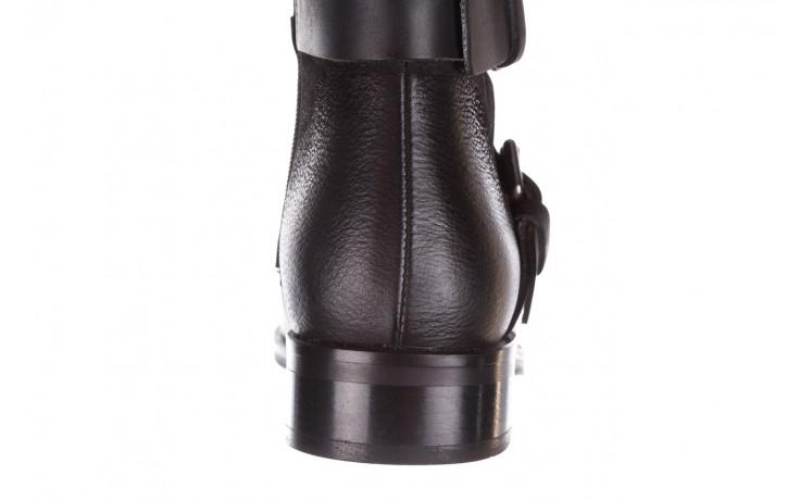 Botki bayla-161 050-09435 black, czarny, skóra naturalna  - skórzane - botki - buty damskie - kobieta 10
