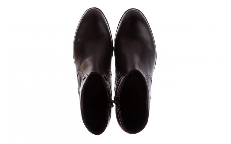 Botki bayla-196 147802 2008 196003, czarny, skóra naturalna  - skórzane - botki - buty damskie - kobieta 5