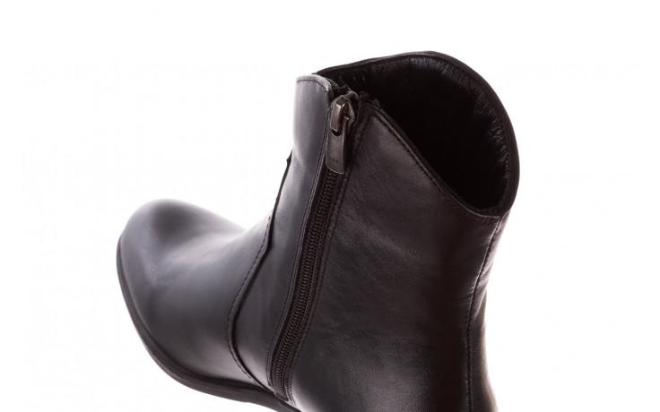 Botki bayla-196 147802 2008 196003, czarny, skóra naturalna  - skórzane - botki - buty damskie - kobieta 8