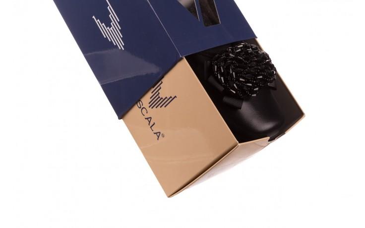 Baleriny viscala 11870.58 czarny, skóra naturalna - viscala - nasze marki 8
