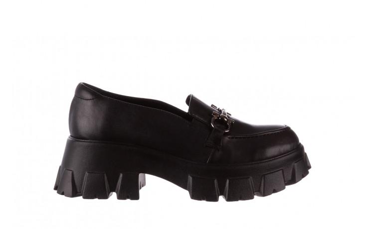 Półbuty bayla-196 20ef126-06 d44 196021, czarny, skóra naturalna  - półbuty - buty damskie - kobieta