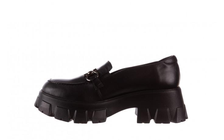 Półbuty bayla-196 20ef126-06 d44 196021, czarny, skóra naturalna  - półbuty - buty damskie - kobieta 3