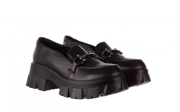 Półbuty bayla-196 20ef126-06 d44 196021, czarny, skóra naturalna  - półbuty - buty damskie - kobieta 1