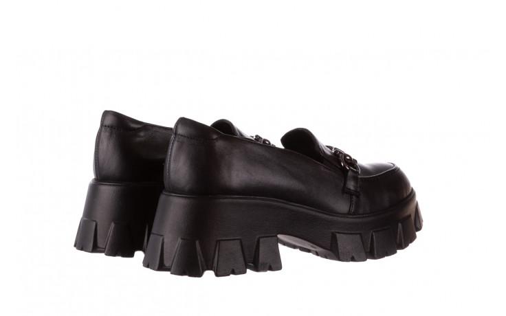 Półbuty bayla-196 20ef126-06 d44 196021, czarny, skóra naturalna  - półbuty - buty damskie - kobieta 4