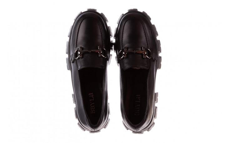 Półbuty bayla-196 20ef126-06 d44 196021, czarny, skóra naturalna  - półbuty - buty damskie - kobieta 5