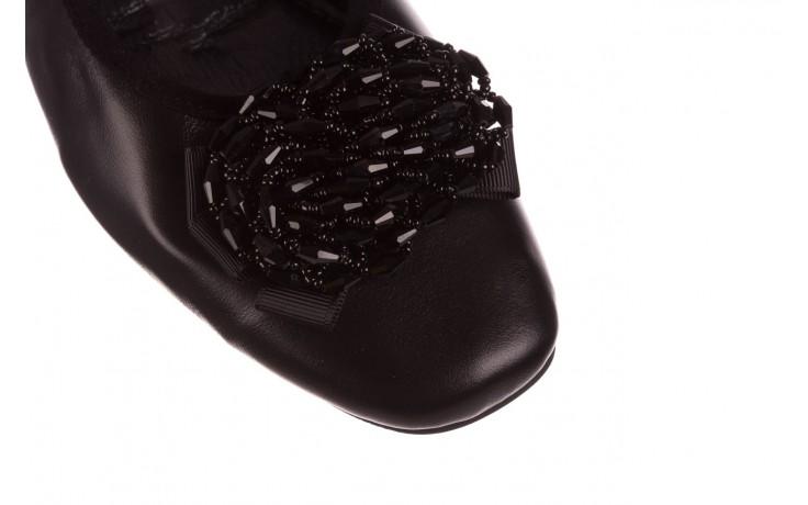 Baleriny viscala 11870.58 czarny, skóra naturalna - viscala - nasze marki 5