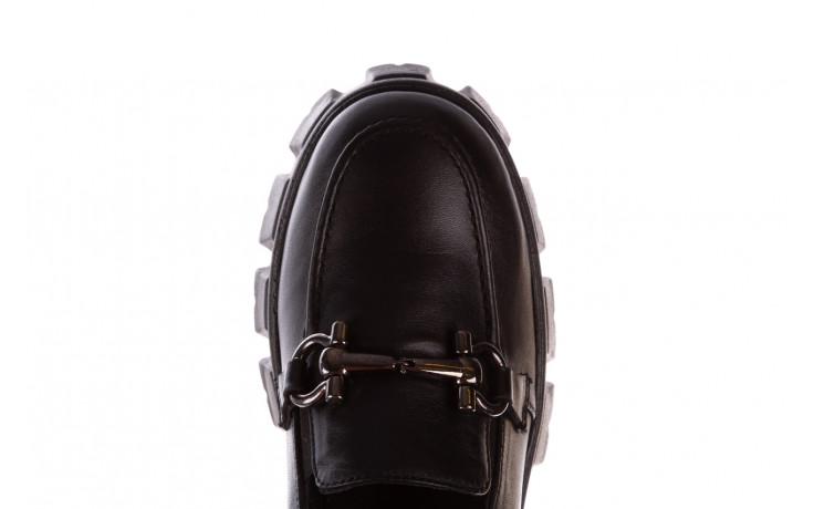 Półbuty bayla-196 20ef126-06 d44 196021, czarny, skóra naturalna  - półbuty - buty damskie - kobieta 7
