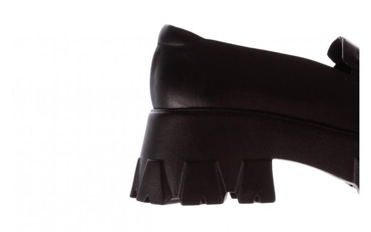 Półbuty bayla-196 20ef126-06 d44 196021, czarny, skóra naturalna  - półbuty - buty damskie - kobieta 8